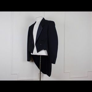 Dior Jackets & Coats - Christian Dior Tuxedo Jacket with Tails